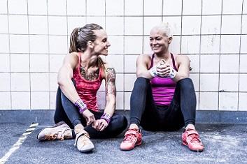 trænings-veninder fra 9fitmonths.com laver program til gravide og nye mødre