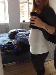 Gravid mave