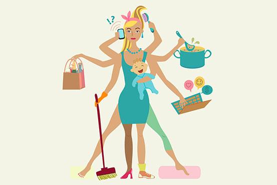travl mor med baby madlavnign arbejder og meget andet