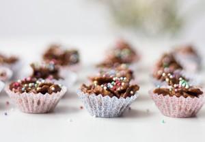 Chokolade-cornflakes Knas