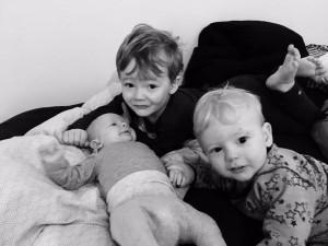 Barn1, Barn2 og Barn3 Alle tre ammebørn