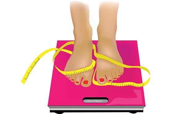 Kvinde på vægt