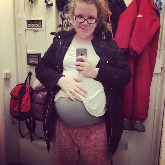 Gravid med barn nr 3