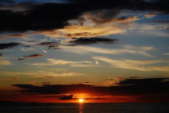 25 timer i døgnet solnedgang