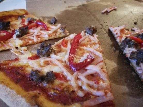 Sjov historie med pizza