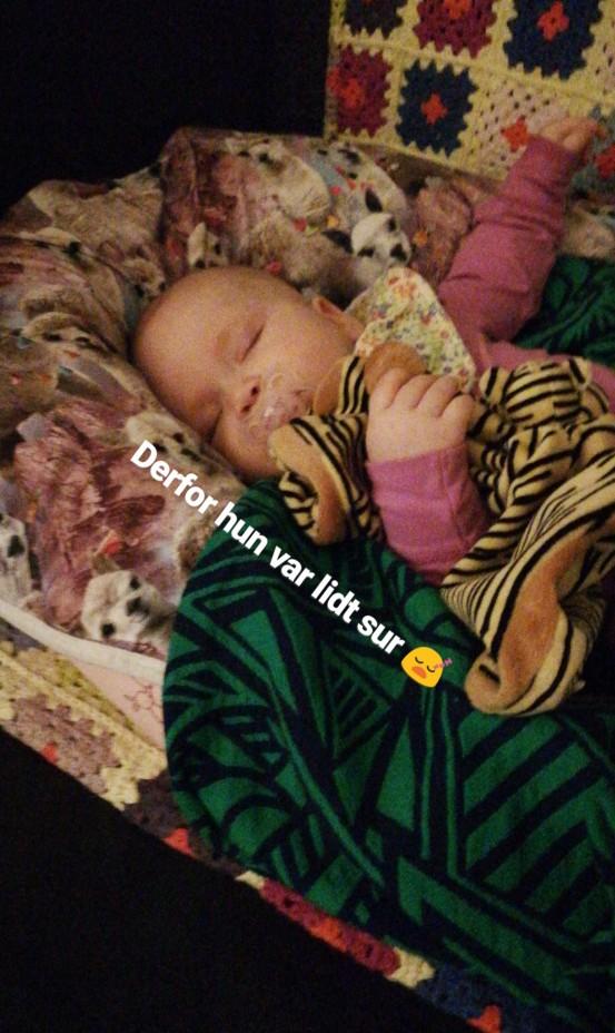 25 timer i døgnet, sovende baby