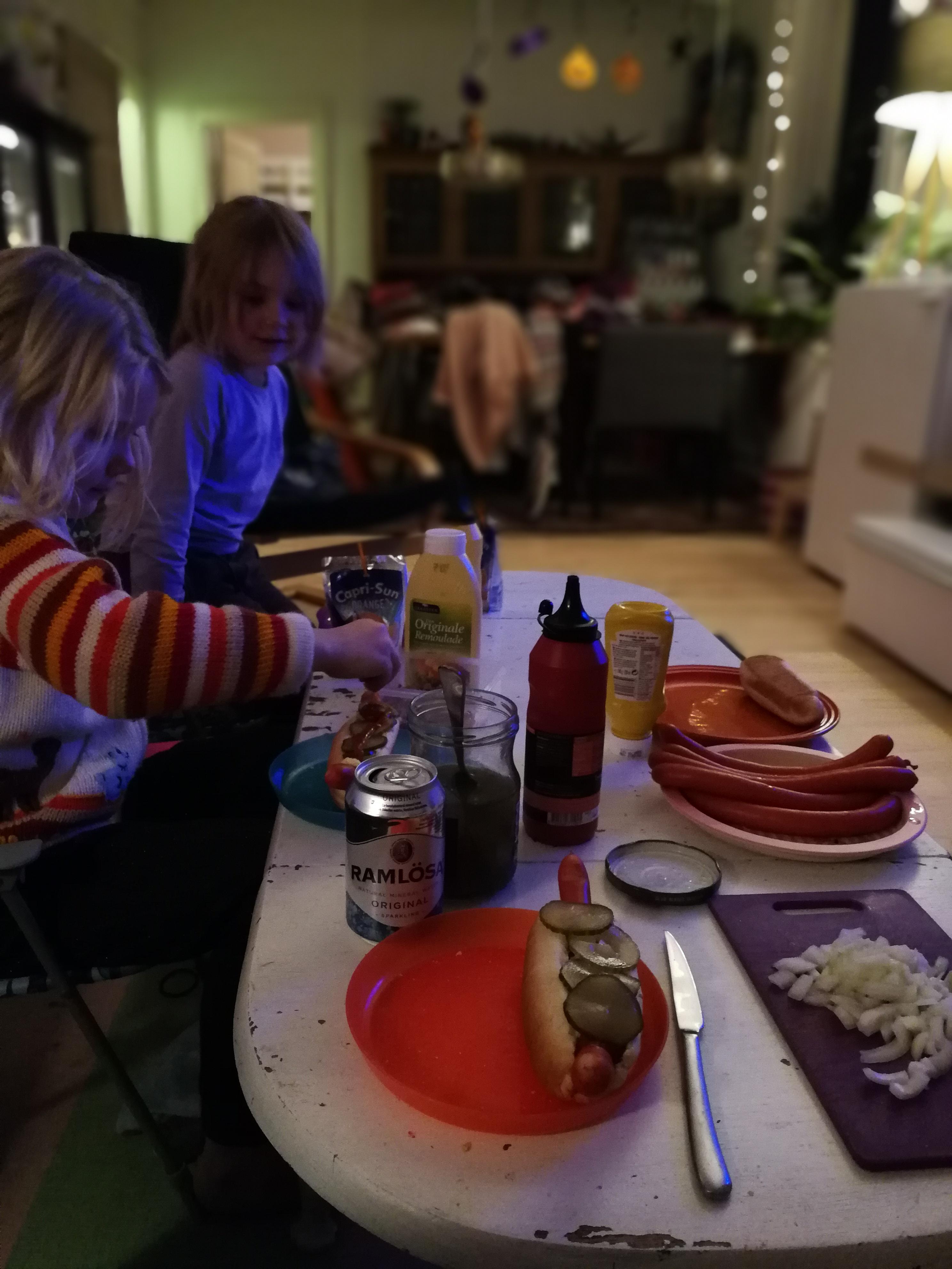 uge 43, aftensmad foran tv