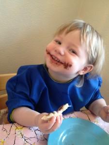 Agnes er jo ligeglad med om jeg er psykisk syg, hun elsker Nutella...